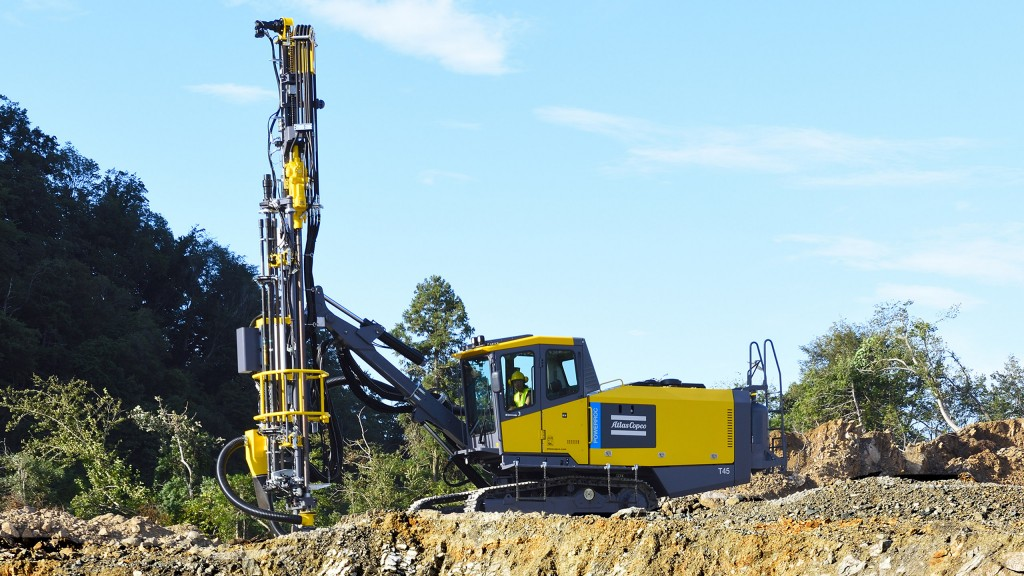 Powerful yet flexible new surface drill rig