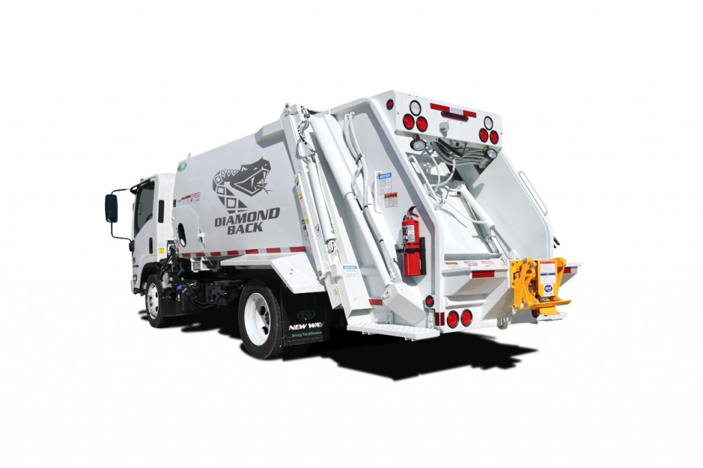 New Way Trucks - Diamondback™ Refuse Trucks