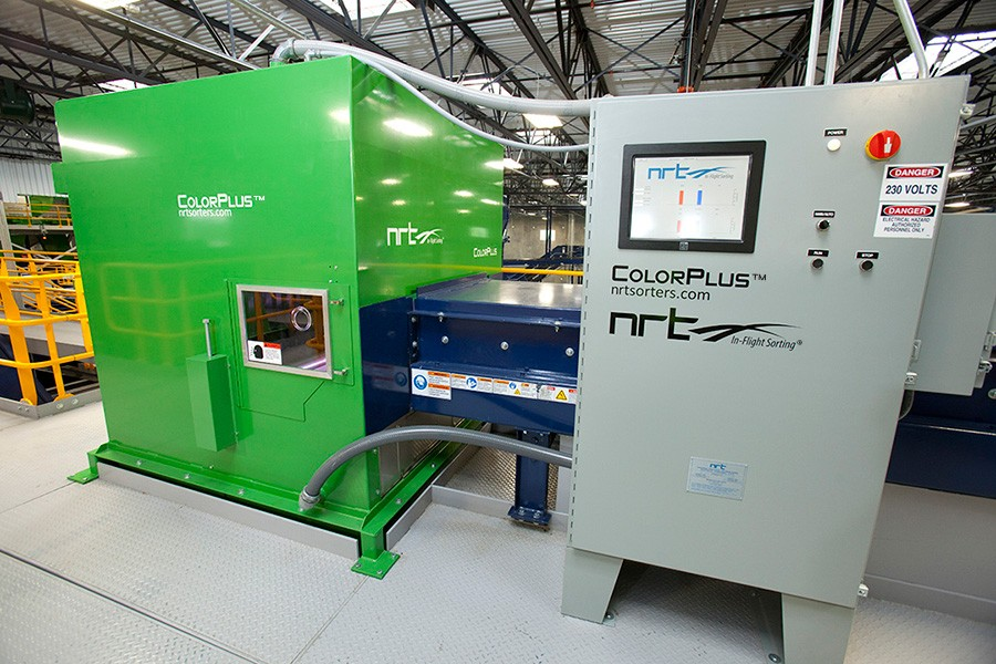 National Recovery Technologies (NRT) - ColorPlus™ Plastics Seperation