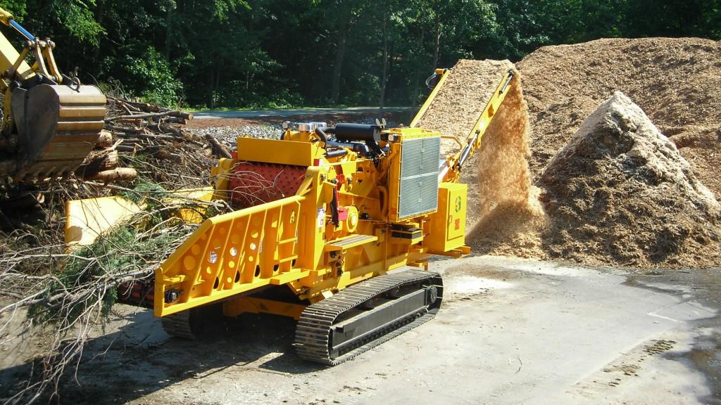 Continental Biomass Industries 6800BT Horizontal Grinder