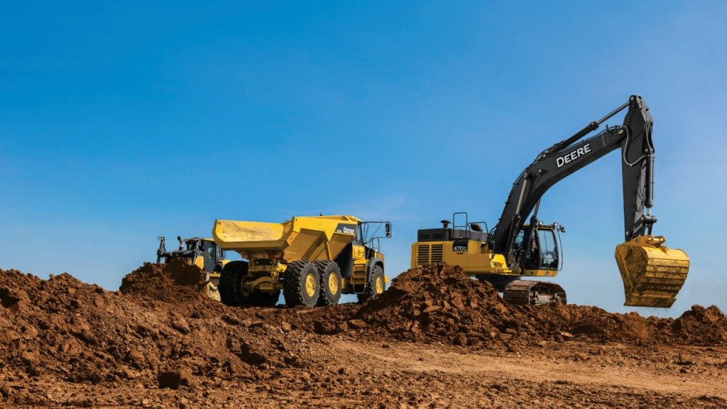 John Deere Extends In-Base JDLink From Three to Five Years on Construction and Forestry Machines