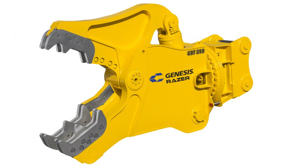 New GDT 390 Razer from Genesis Attachments designed for biggest jobs