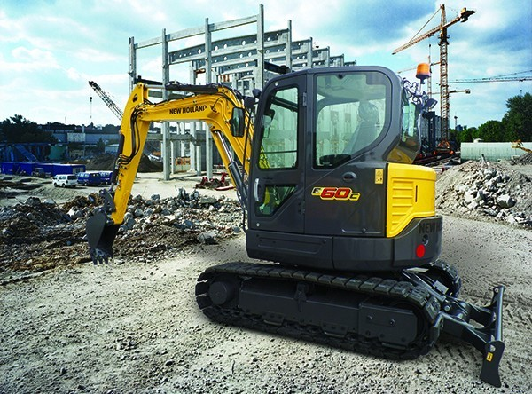 New Holland Construction unveils new full line of mini excavators