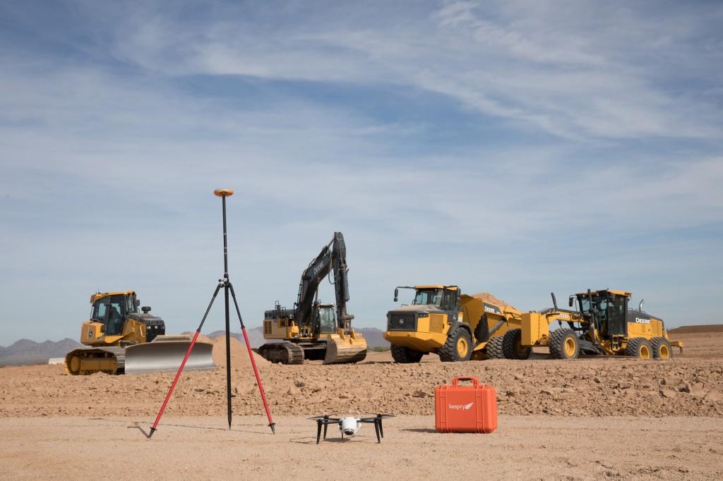 John Deere and Kespry enter strategic alliance to simplify drone integration on construction jobsites
