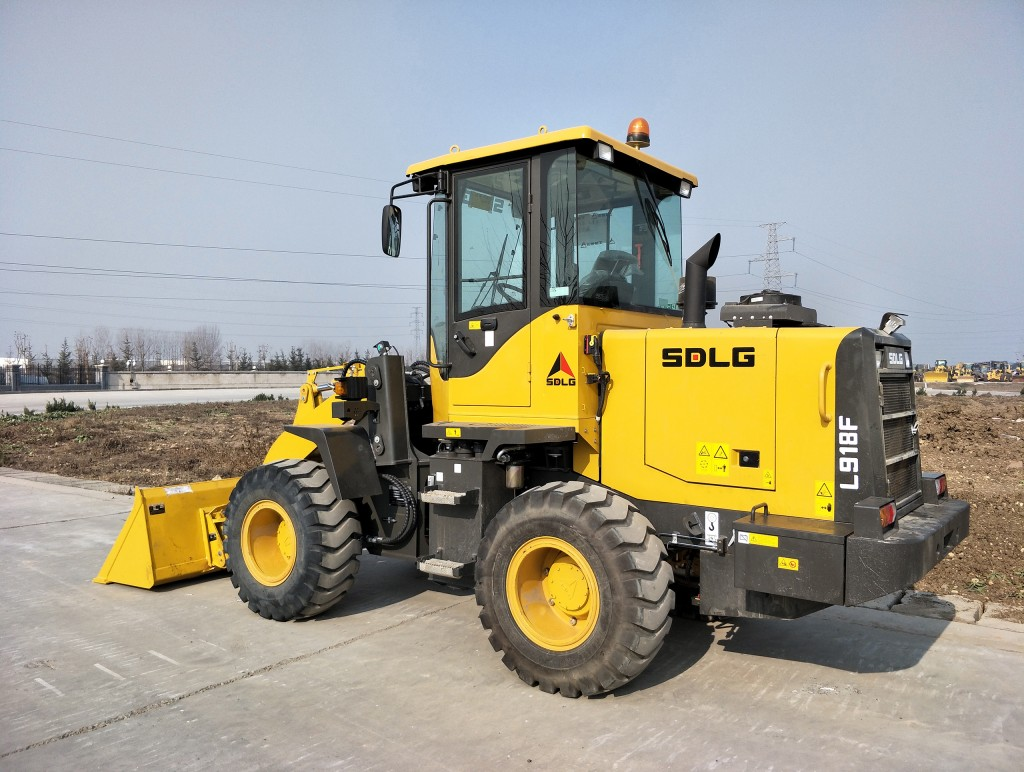 SDLG expands product range with 1.0-cubic-yard-capacity compact wheel loader at CONEXPO 2017