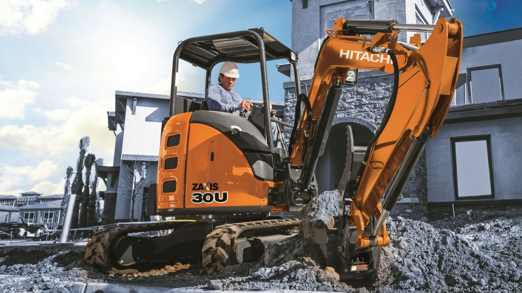 Hitachi announces upgrades to its compact-class excavator line with new ZX30U-5 model and a new canopy option for the ZX60USB-5