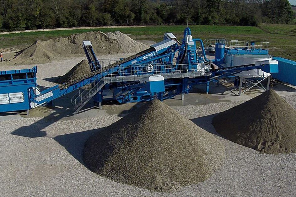 CDE Global - M-Series Sand & Aggregates Washing plants