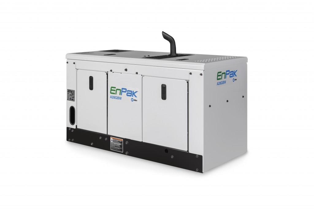 Miller Electric Mfg. LLC. - EnPak A28GBW Compressors