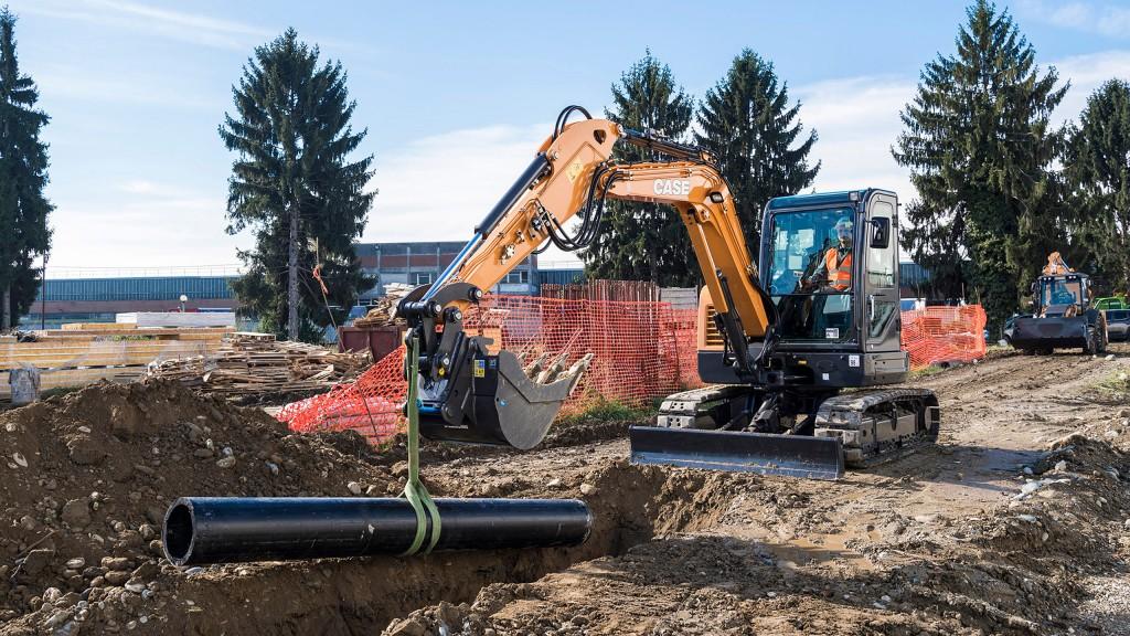New full line of mini excavators