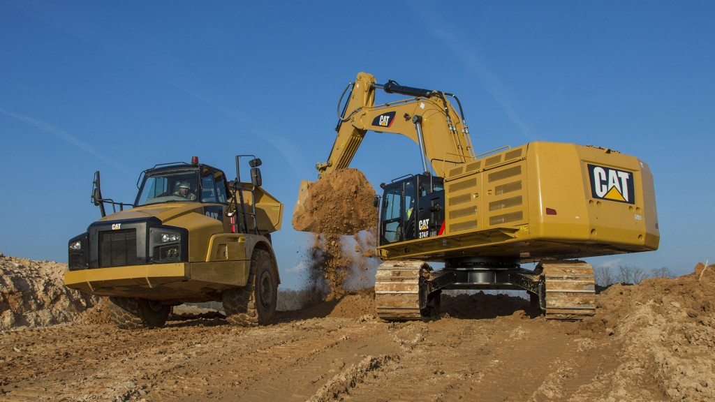 More excavators equipped with cost-saving Cat Connect