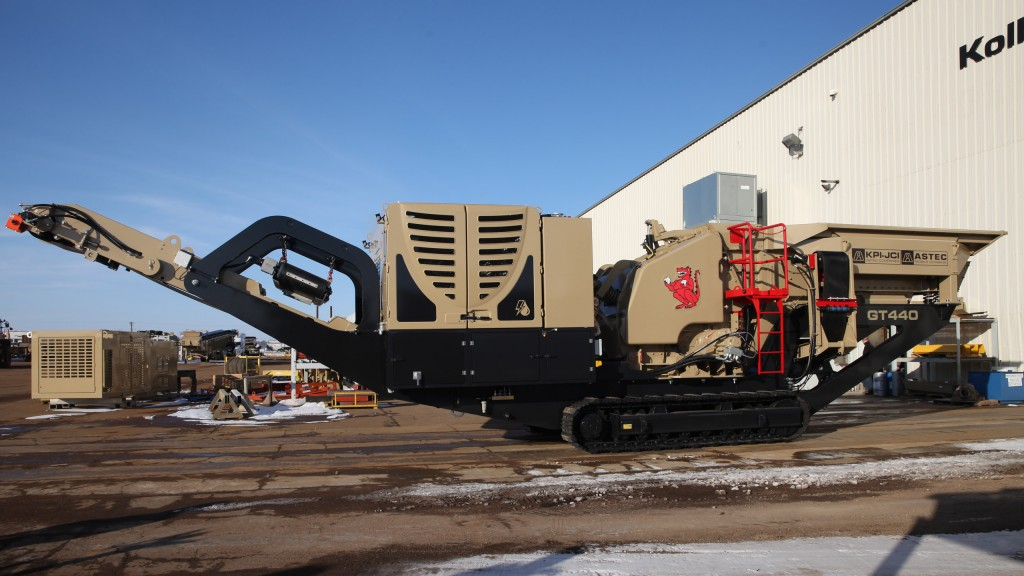 Hybrid technology featured in horizontal shaft impactor