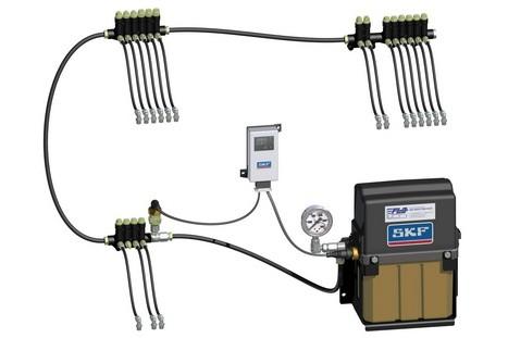 FLO Components Ltd. - FLO SKF MonoFlex Automatic Lubrications Systems