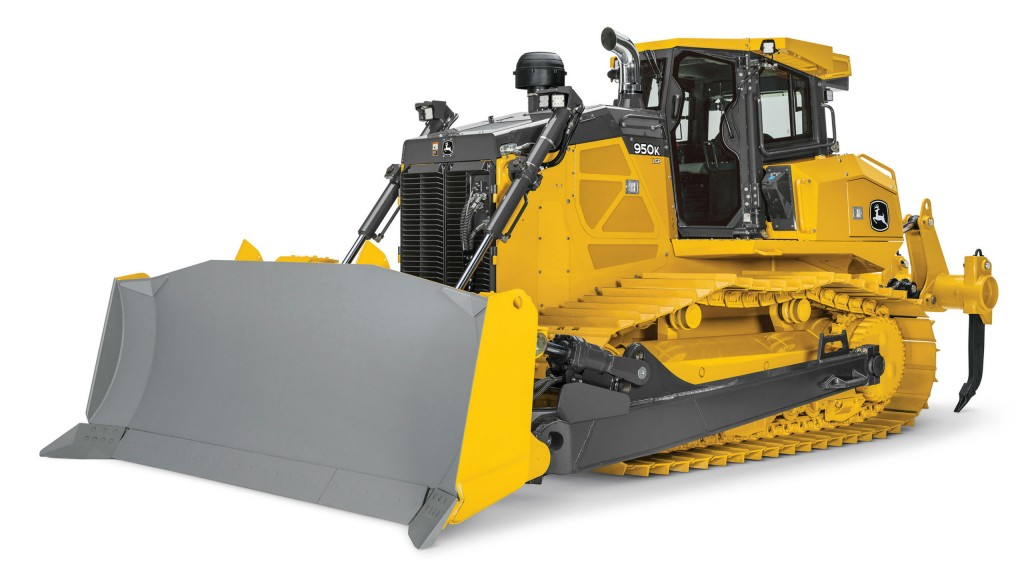 Deere Pushes Expansion of Production-Class Equipment Lineup With 950K Crawler Doz
