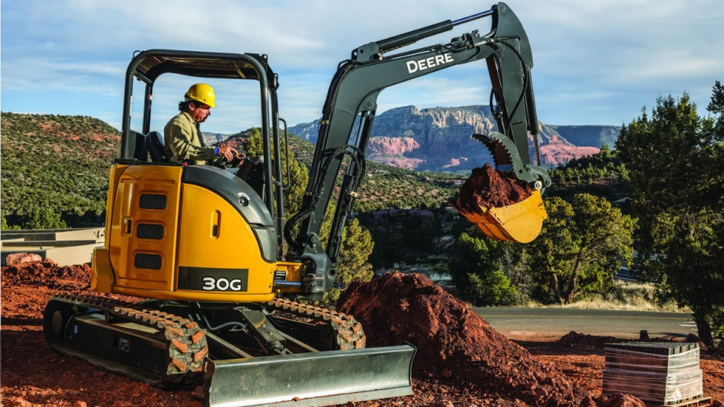 John Deere 30G to Make Sizeable Impact on Compact Excavator Line-up