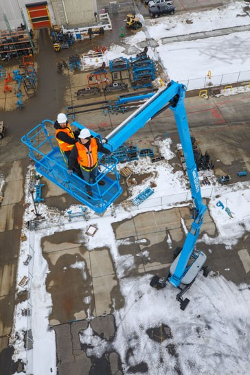 Genie introduces new generation articulated boom