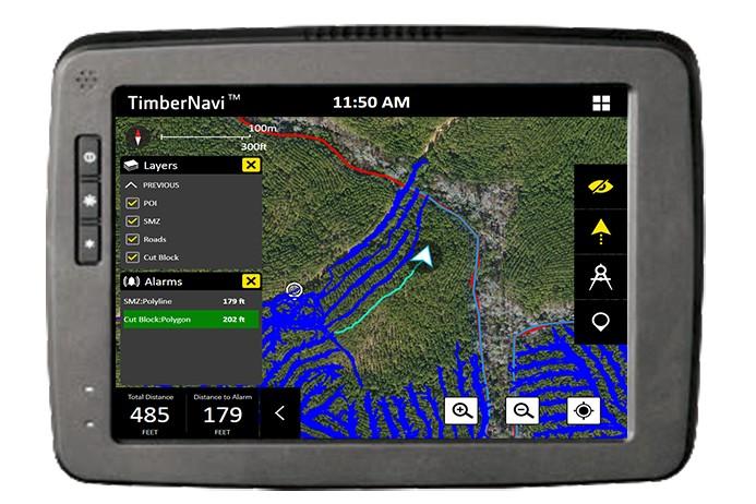 John Deere Construction & Forestry - TimberNavi™ Telematics