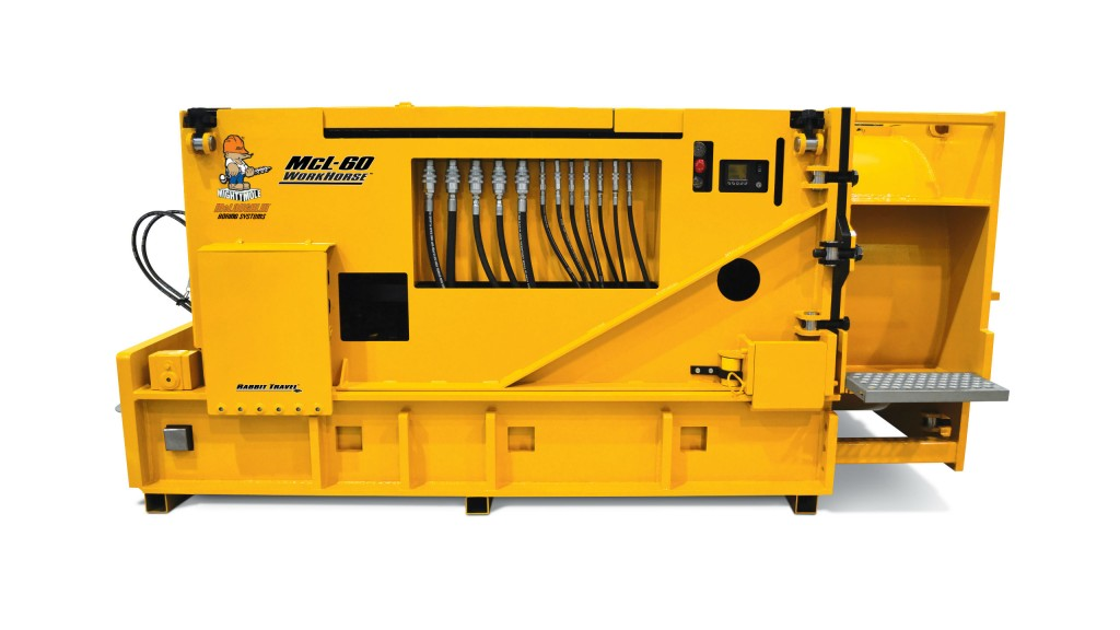 McLaughlin launches new 60-inch auger boring machine