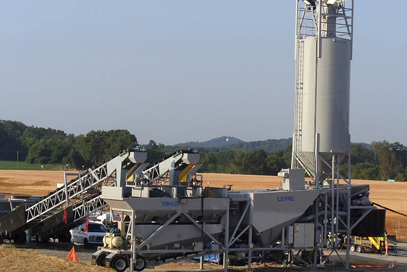 CON-E-CO - LO-PRO 327S Concrete Plants