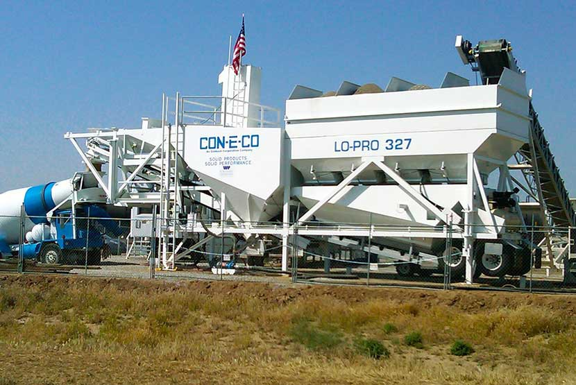 CON-E-CO - LO-PRO 327D Concrete Plants