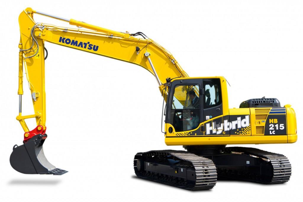 Komatsu America Corp. - HB215LC-3 Excavators