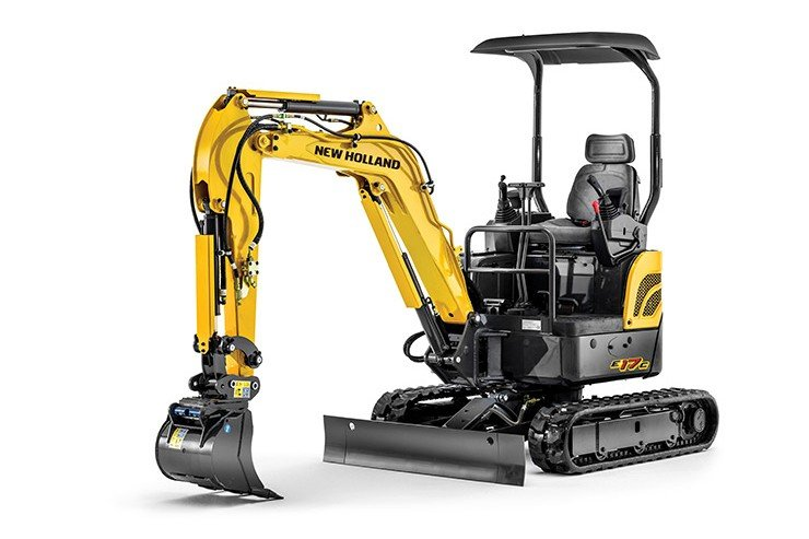 New Holland - E17C Mini Excavators