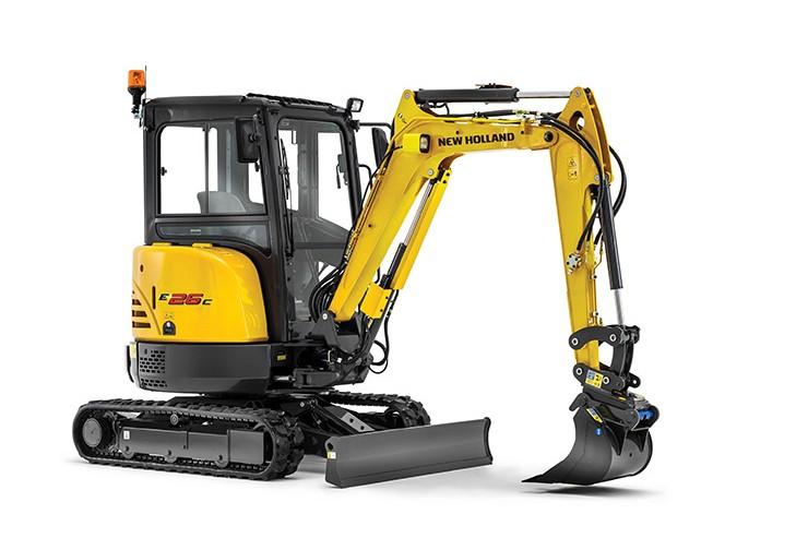 New Holland - E26C Mini Excavators