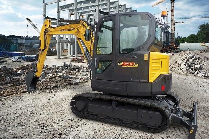New Holland - E60C Mini Excavators