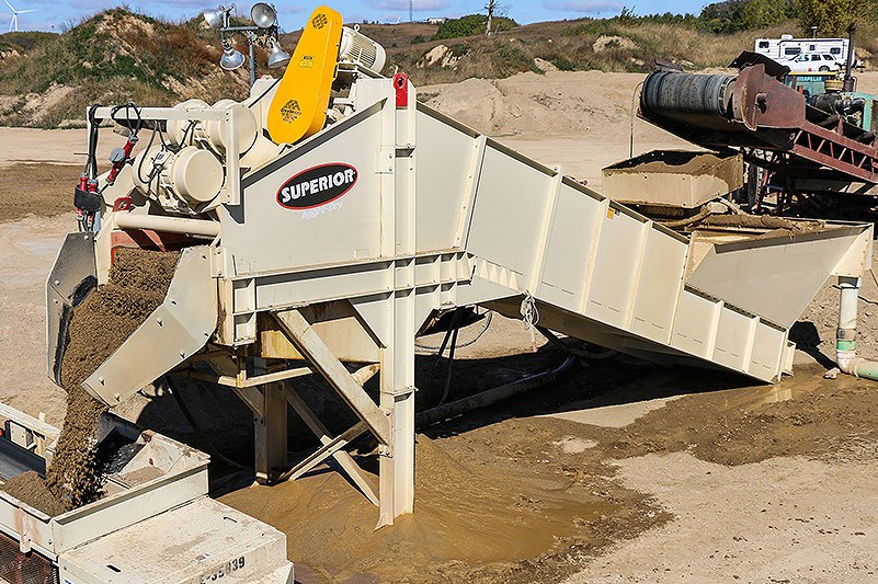 Superior Industries Inc. - Aggre-Dry® Sand & Aggregates Washing plants