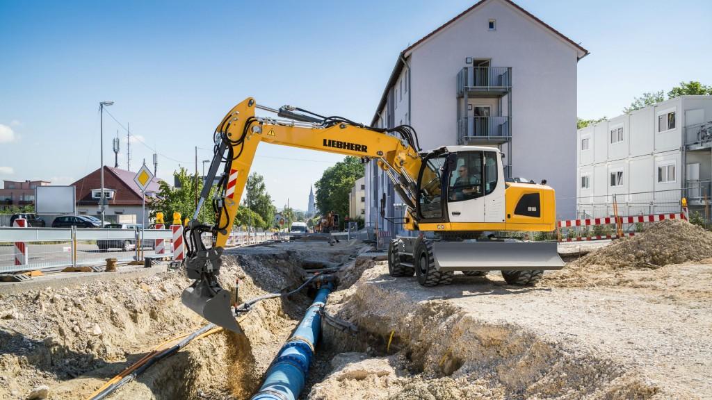 New Liebherr A 918 Litronic wheeled excavator