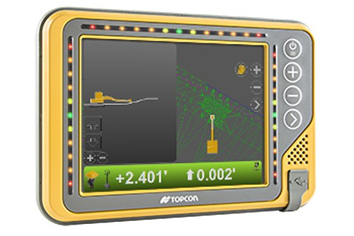 Topcon Positioning Systems - X-52 Excavator Machine Control