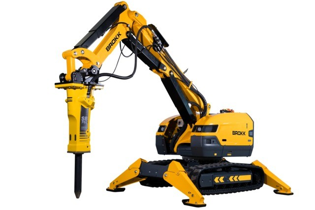 Brokk USA - Brokk 500 Demolition Robots
