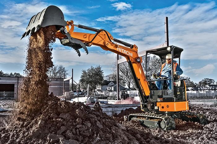 Hitachi Construction Machinery Corporation - ZX26U-5 Compact Excavators
