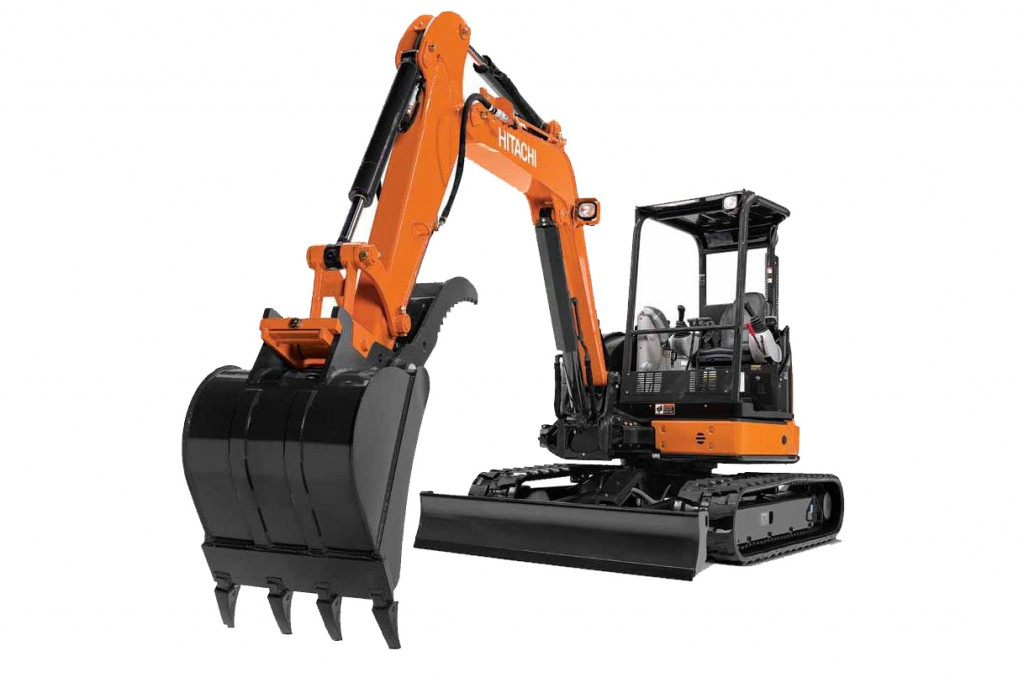 Hitachi Construction Machinery Corporation - ZX50U-5 Compact Excavators
