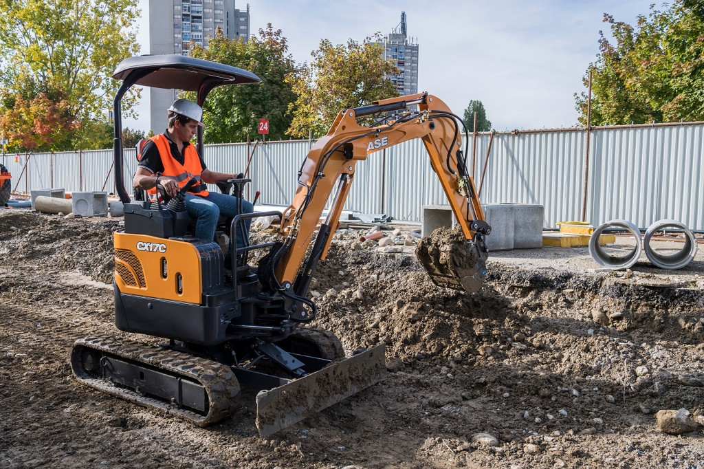 Case Construction Equipment - CX17C Mini Excavators