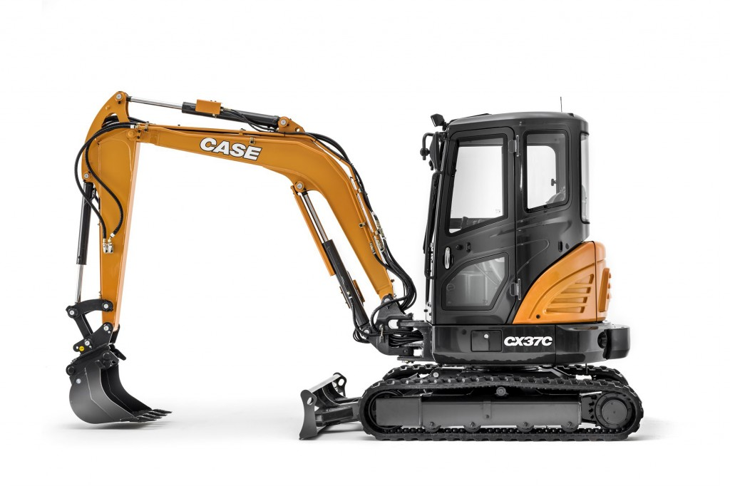Case Construction Equipment - CX37C Mini Excavators