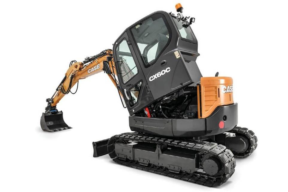 CASE Construction Equipment - CX60C Mini Excavators