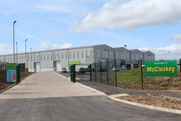 McCloskey responds to worldwide growth with investments in new facilities and dealers
