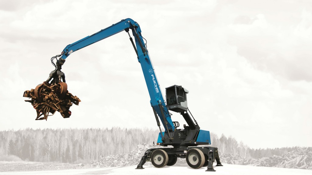 Fuchs MHL370 F material handler built for tough, high-capacity handling applications