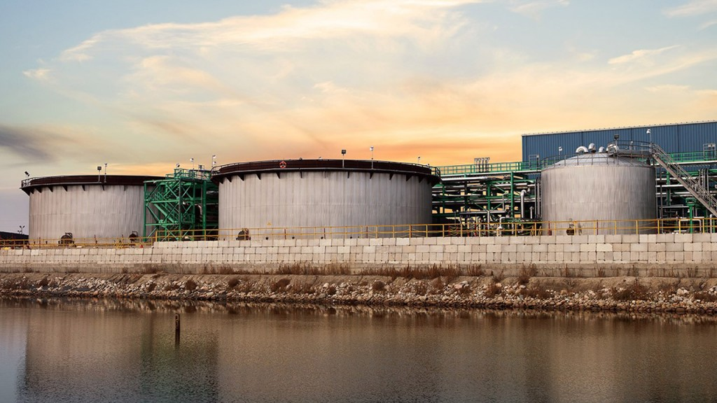 Canadian refinery named Industrial Water Project of the Year