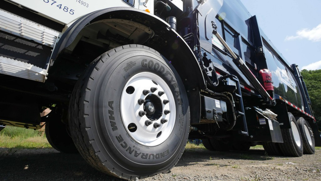 Goodyear Brings Total Solution to Waste Expo