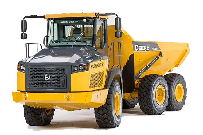 John Deere Construction & Forestry - 260E Articulated Dump Trucks