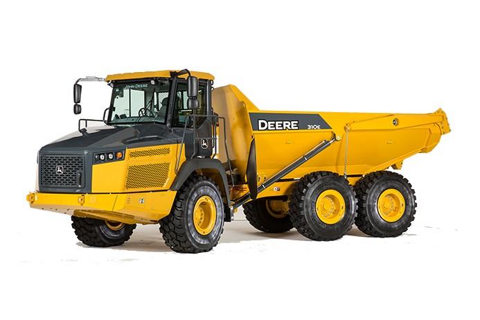 John Deere Construction & Forestry - 310E Articulated Dump Trucks
