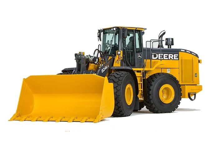 John Deere Construction & Forestry - 824K-II Wheel Loaders