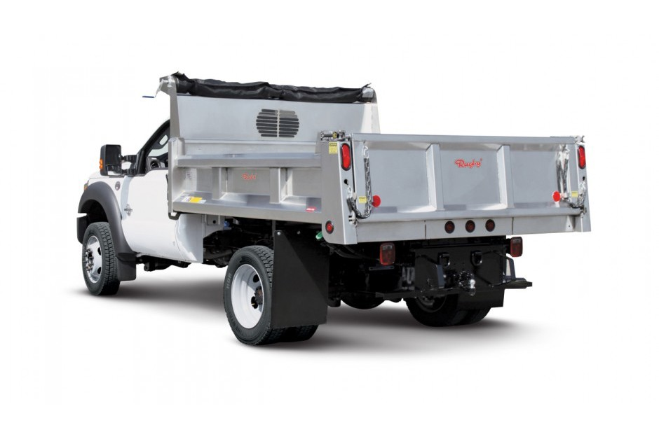 Rugby Manufacturing - Eliminator LP Stainless Steel Dump Bodies
