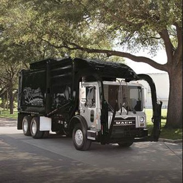 Mack Over The Air to be available on refuse and recycle vehicles