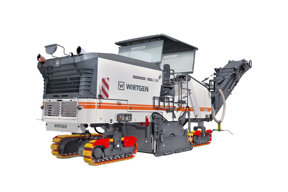 Wirtgen America, Inc. - W 210i Cold Planners / Milling Machines
