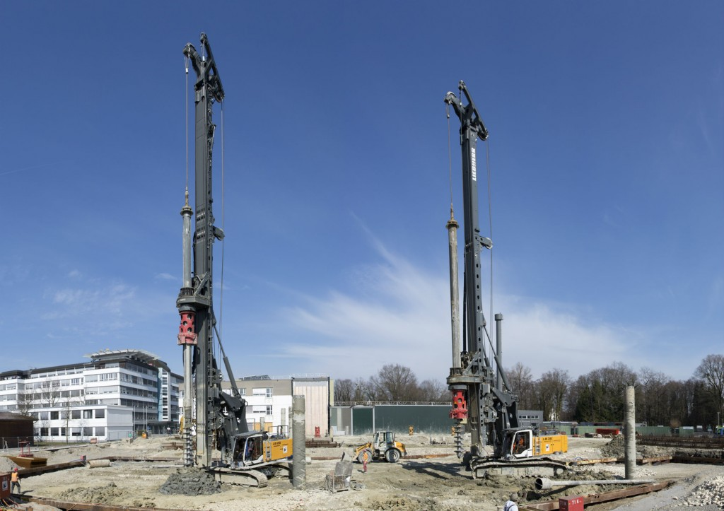 Liebherr Drilling Rigs Deployed for Plant Expansion at Airbus Defence and Space