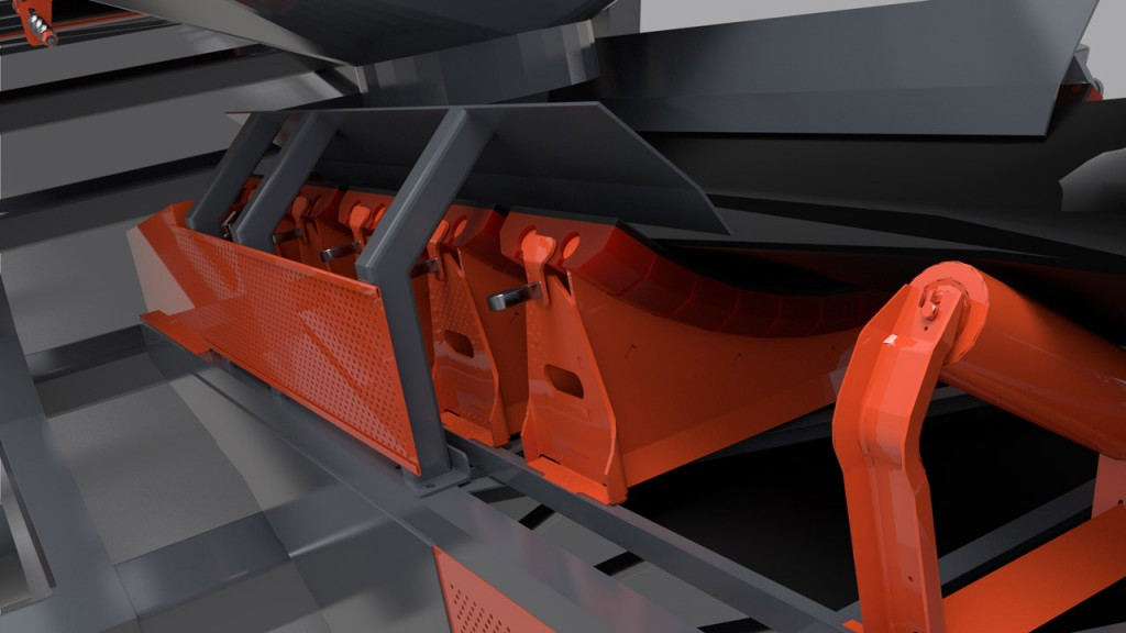 Impact cradle adds extra protection for conveyors