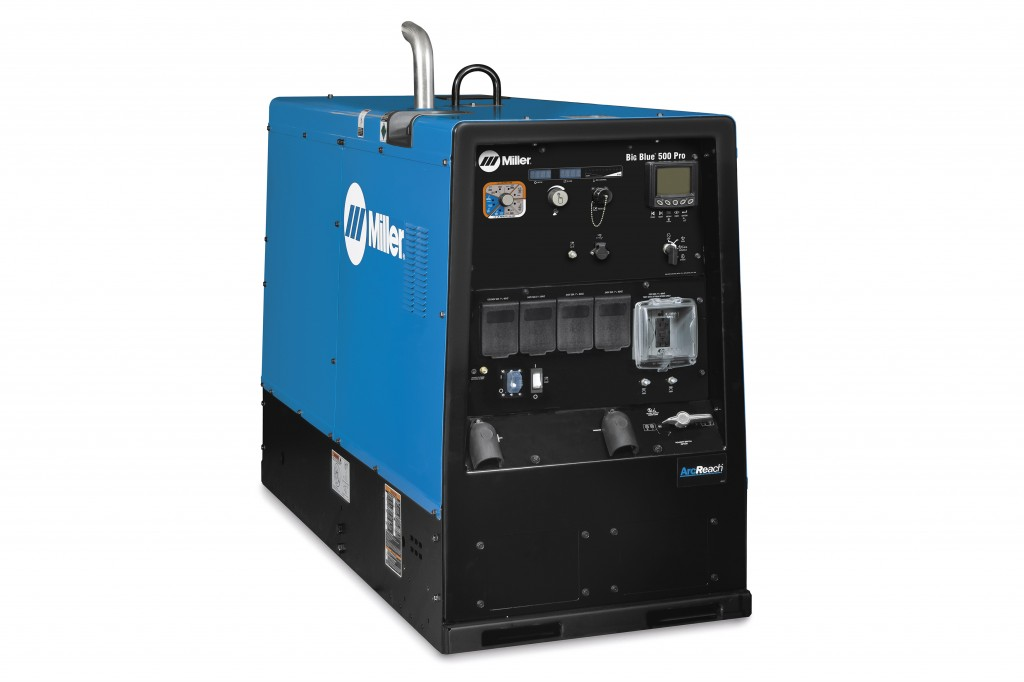 Miller Electric Mfg. LLC. - Big Blue® 500 Pro (Kubota) Deluxe w/ ArcReach® Welding
