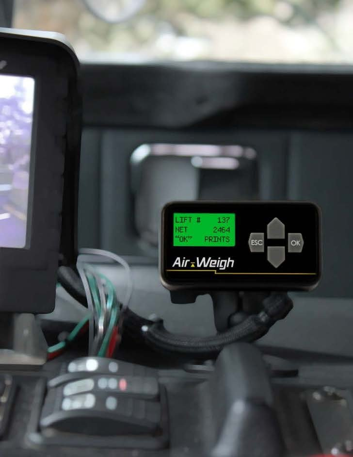 Air-Weigh introduces its first on-board scale with accessible Cloud based data storage